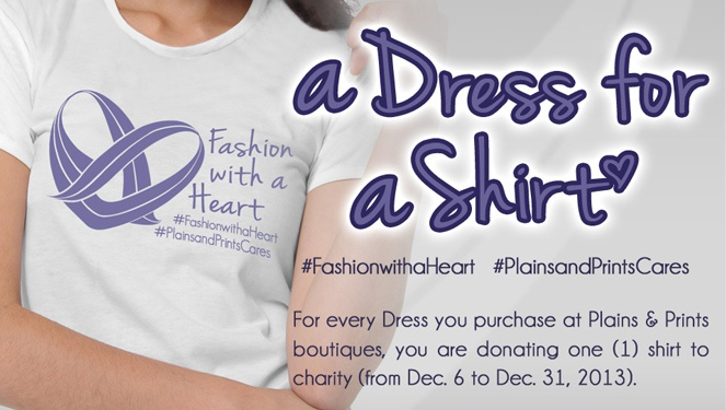 Plains & Prints' #fashionwithaheart