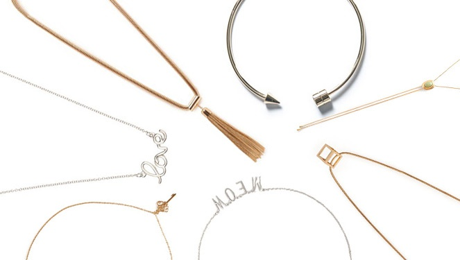 Hot Right Now: Thin Necklaces