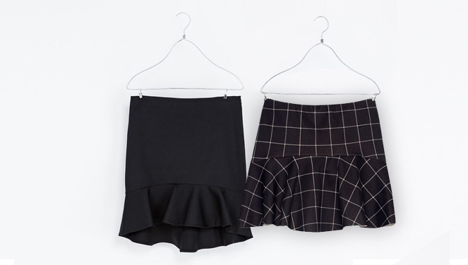 Swing It With A Fluted-hem Skirt
