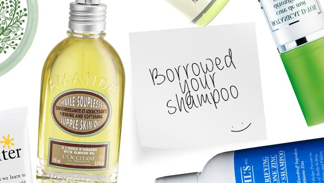 Beauty Products Your Beau Can Borrow From You