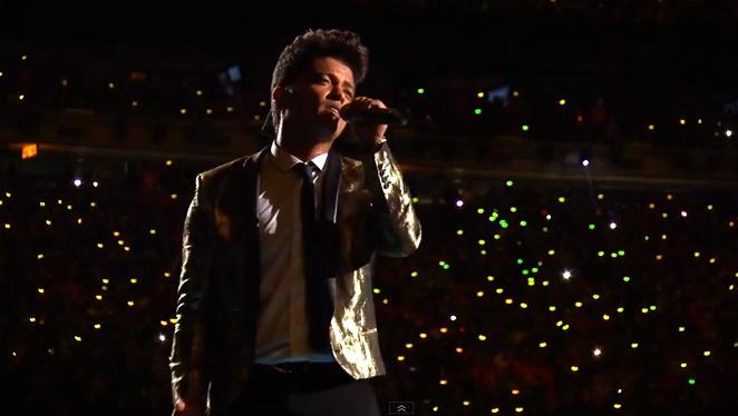 Why We Think Bruno Mars' Superbowl Gilded Jacket Is So Rad