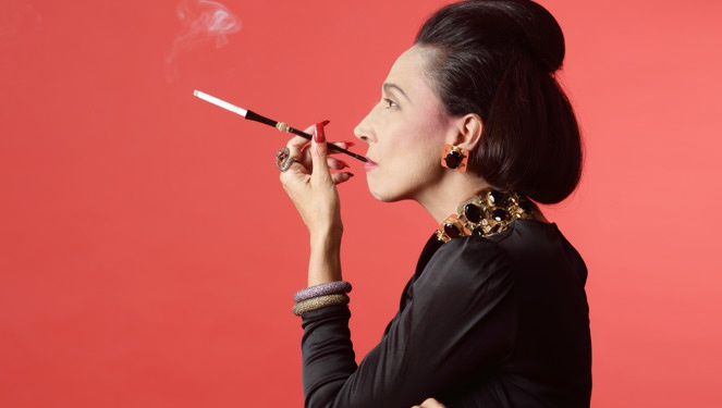 Cherie Gil Is Diana Vreeland