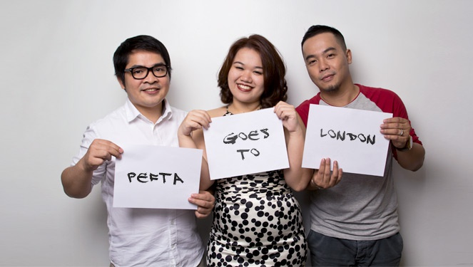 Pefta Goes To London