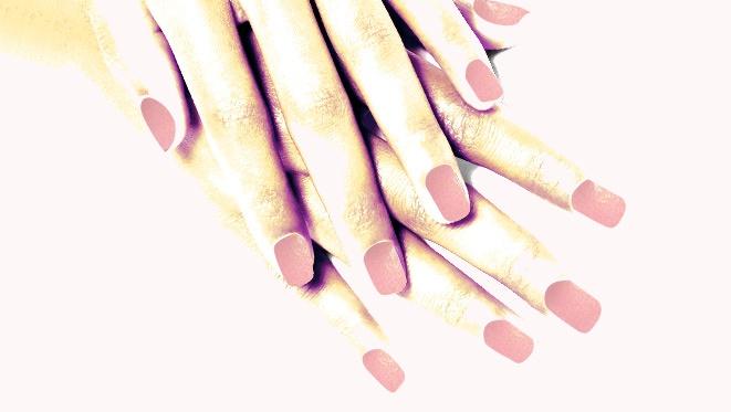 #manimonday: Sweet Pink Tips
