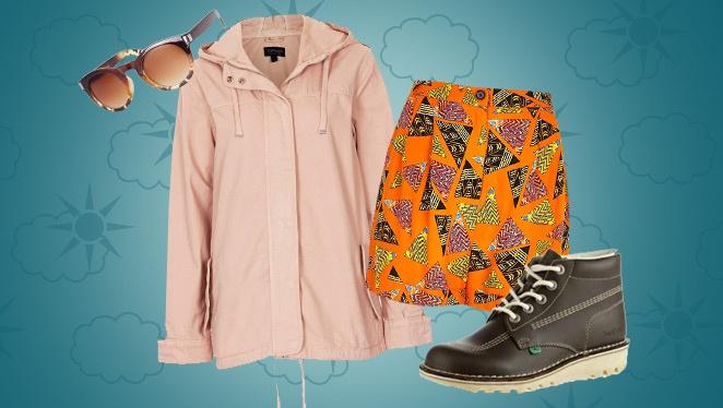 Three Outfits, Rain Or Shine