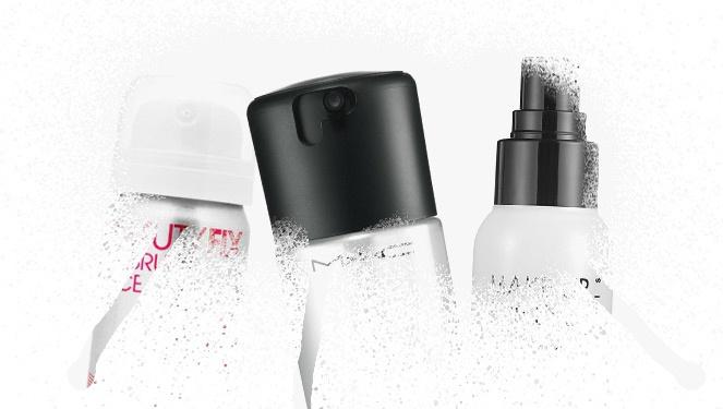 5 Setting Sprays For A Fresh Face