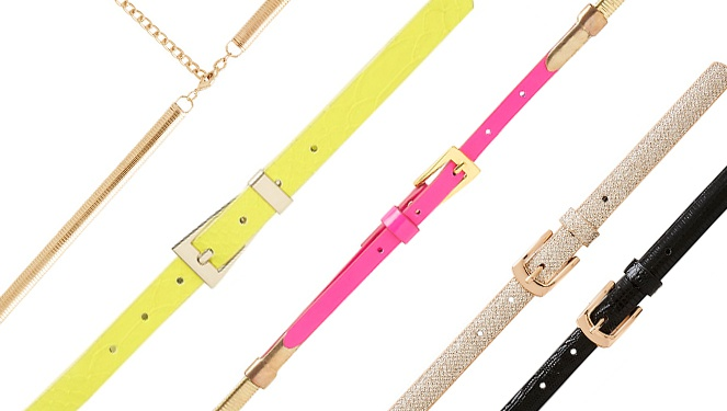 15 Skinny Belts You'll Love