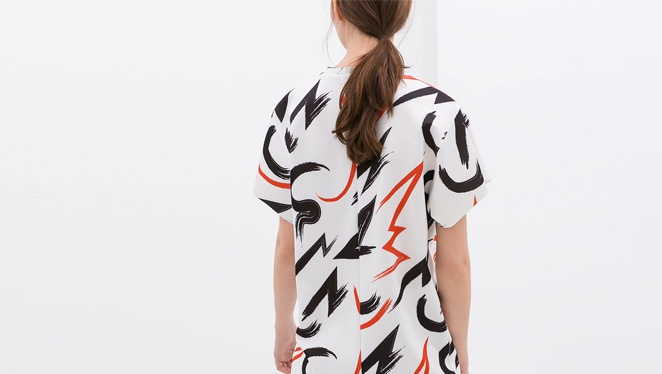 #fridayfavorite: Printed Shift Dress