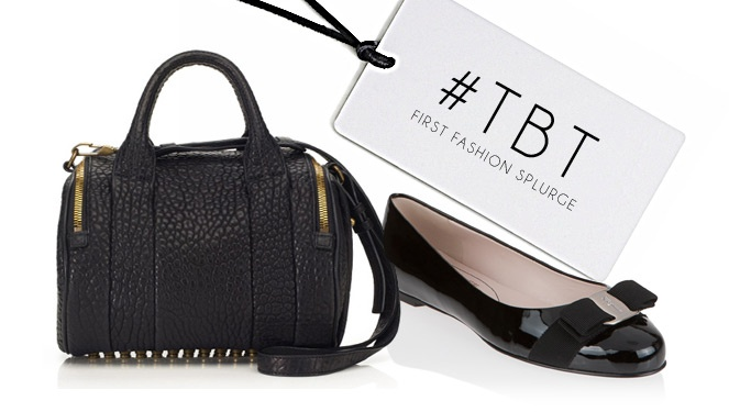 #throwbackthursday: Our First Fashion Splurge