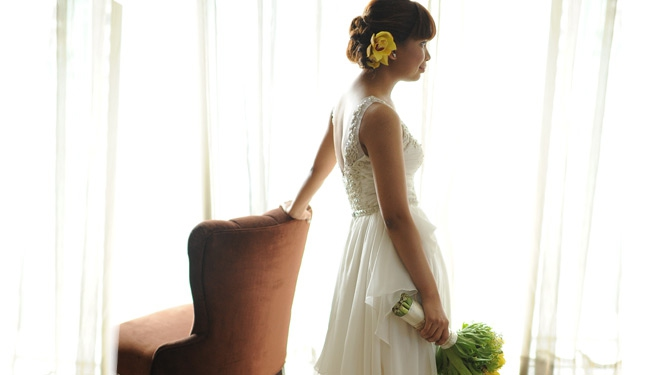 Kenneth Chua Made My Wedding Dress