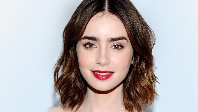 Cop Lily Collins' Easy Red Carpet Makeup