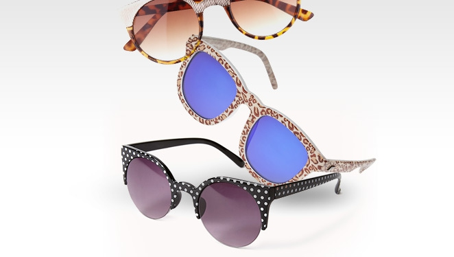 Eyewear Special: Prints And Color