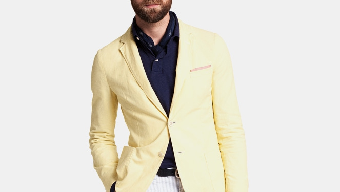We're Dressing Up Our Beaus In A Yellow Jacket!