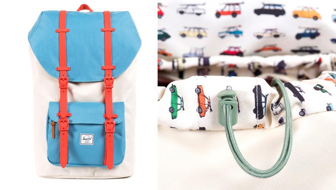 #fridayfavorite: Herschel Rad Cars Little America Bag
