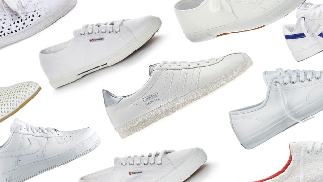 19 Dreamy White Sneakers