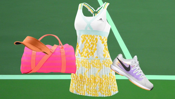 Love Playing Tennis? Earn Extra Points With These Super Chic Outfits!