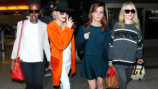 Celebrity Airport Looks Totally Worth Stealing