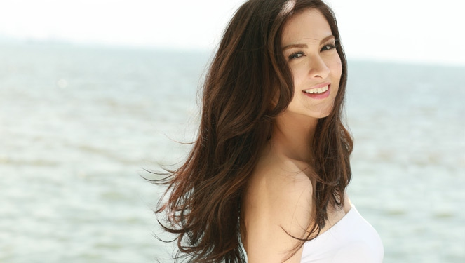 Marian Rivera Lets Her Hair Down For Hana