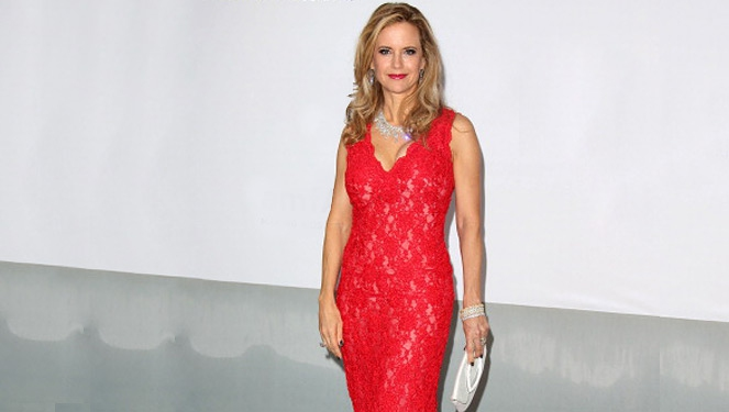 Kelly Preston Wears Oliver Tolentino At Cannes