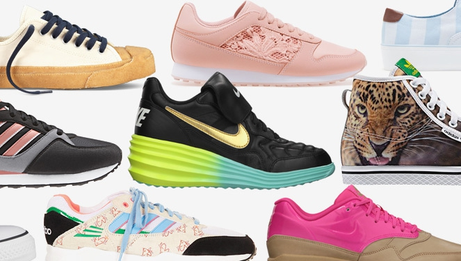 23 Pairs Of Sneakers You Can Run Around In During Fashion Week