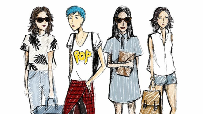 Fashion Do-over: First Day Of School
