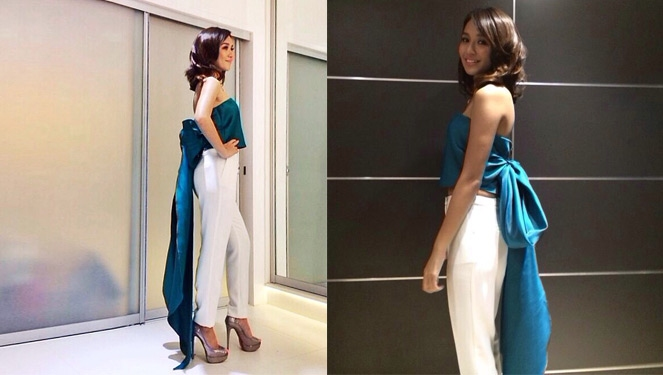 Stylesetter: Kathryn Bernardo's Red Carpet Look For She's Dating The Gangster