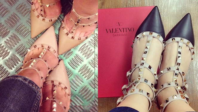 Updated Valentino Rockstud: The Shoe Celebrities Are Mad About