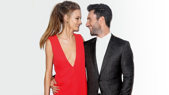 Here's Our Take On Behati Prinsloo's Wedding Dress