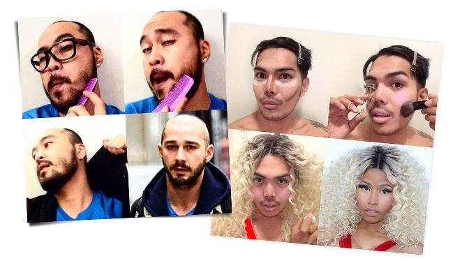 #makeup Transformation Round 2