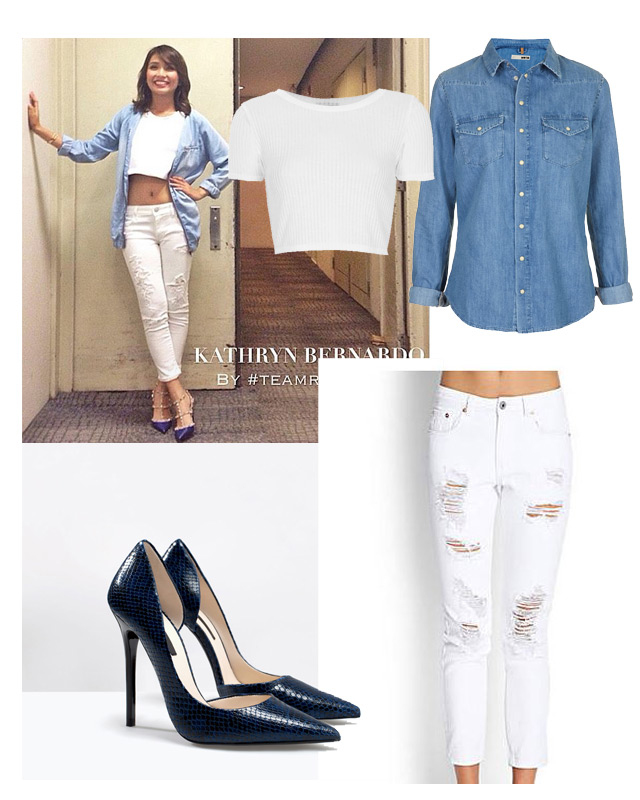 How To Style The Distressed Denim | Preview