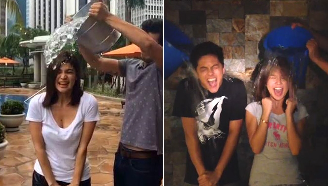 Local Celebs Join In The #icebucketchallenge