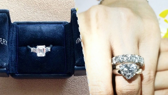 Engagement Ring Match-up: Heart Evangelista And Marian Rivera