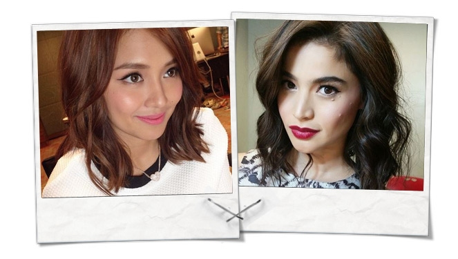 Midweek Celebrity Selfie: The Winged-eye Look