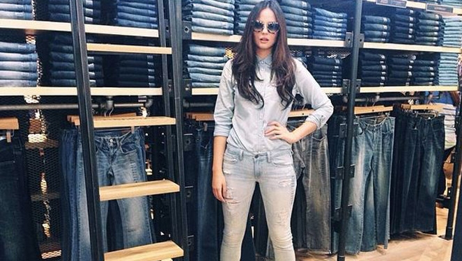 Celebrity Style: Double Denim