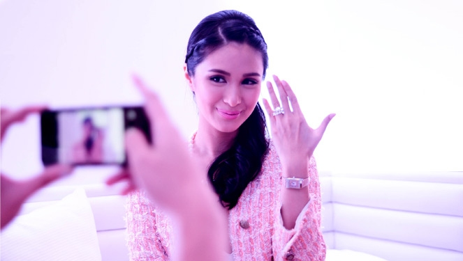 15 Minutes With Heart Evangelista