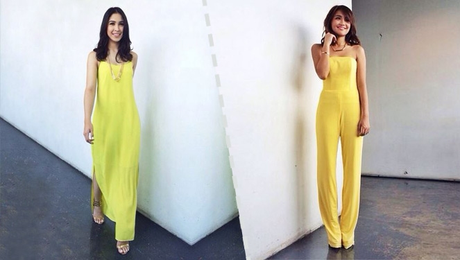 Who Looks Better In Yellow: Julia Barretto Or Kathryn Bernardo?