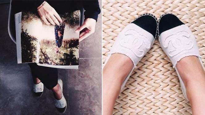 Trendspotting: Chanel Espadrilles