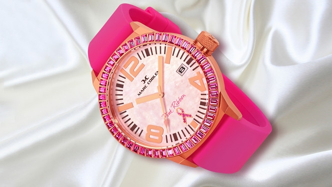 3 Ways To Wear Your Pink Ribbon Watch