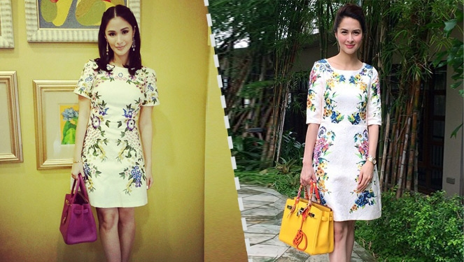 Who Wore Her Dolce And HermÈs Combo Better: Marian Rivera Or Heart Evangelista?
