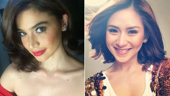 Midweek Celebrity Selfie: Lobbed Beauties