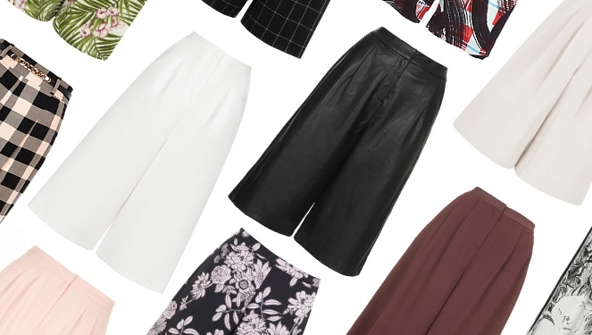 15 Cool Culottes That Will Upgrade Your Style Game