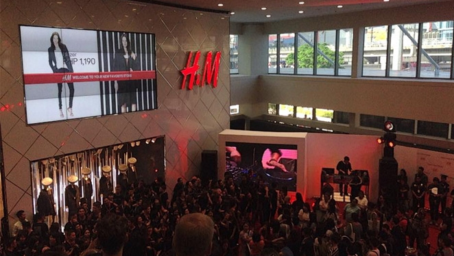 Live Update: Scenes From The Opening Of H&m Philippines
