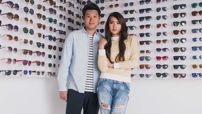 Work Wear Diaries: Sunnies Studios' Bea Soriano And Eric Dee