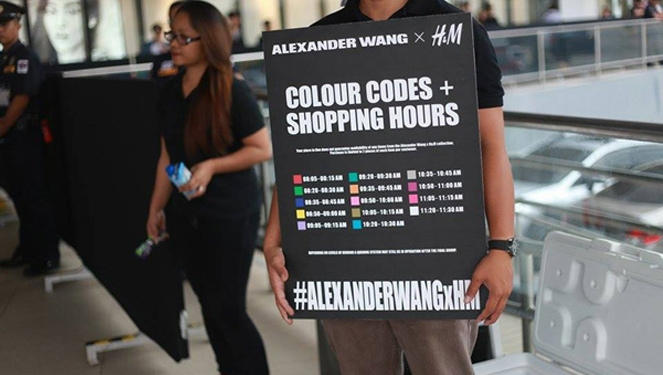 Live Update: Scenes From The Alexander Wang X H&m Collection Launch