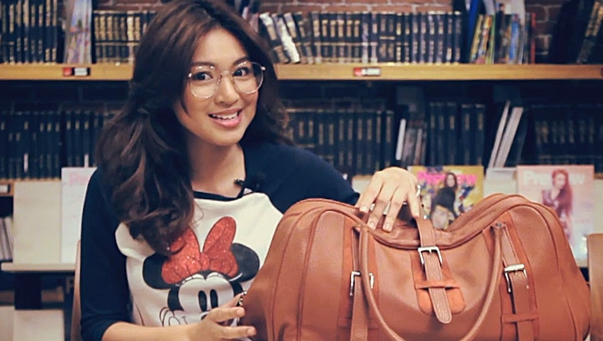 Watch: What's Inside Nadine Lustre's Bag?