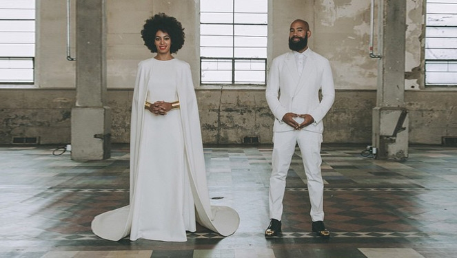 Solange Knowles' Wedding Outfits