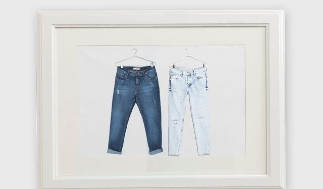 Denim Glossary: The Jeans Family