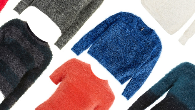 17 Fuzzy Fluffy Sweaters