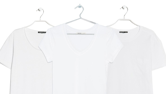 The 7 Kinds Of Plain White Tees