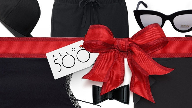 Holiday Fashion Gift Guide: Below 500